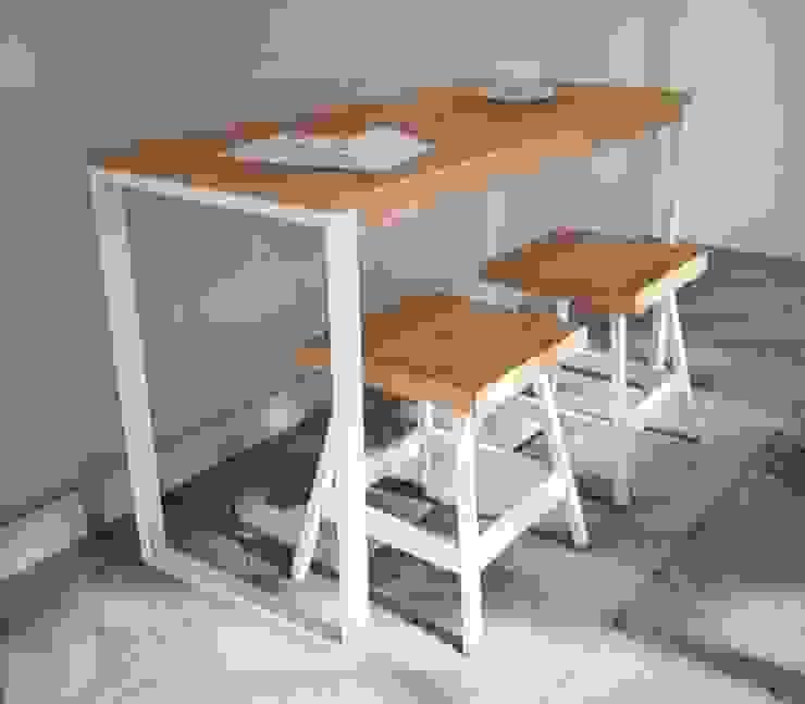 Rocky Bar table:modern  oleh SKETSA OPERA, Modern Kayu Wood effect