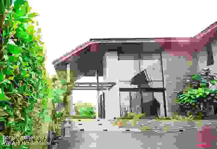 Khun Bow House โดย HOMEMAX THE BUILDER โมเดิร์น