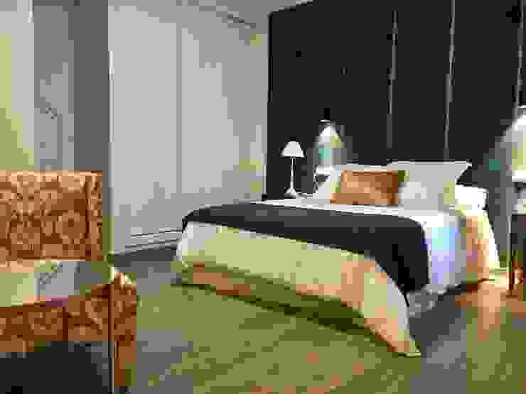 Dormitorio Hoteles de estilo moderno de Traza Naranja SLU Moderno