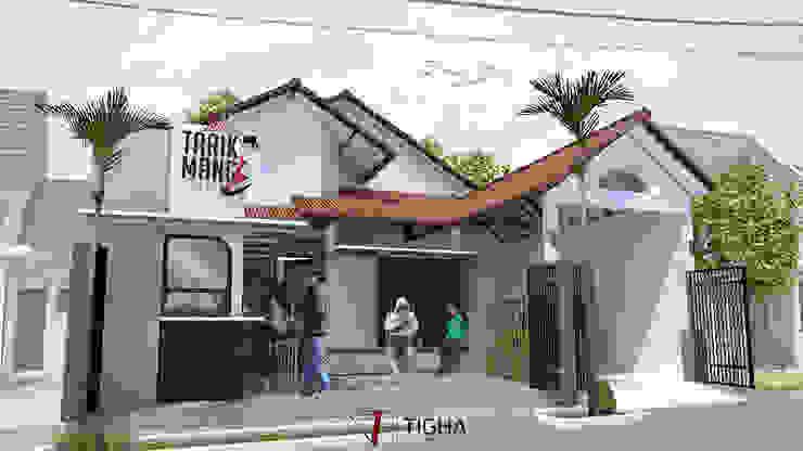 Tarik Mang Cafe:  Halaman depan by Tigha Atelier