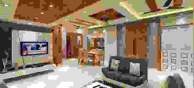 Dining area Minimalist dining room by Square 4 Design & Build Minimalist