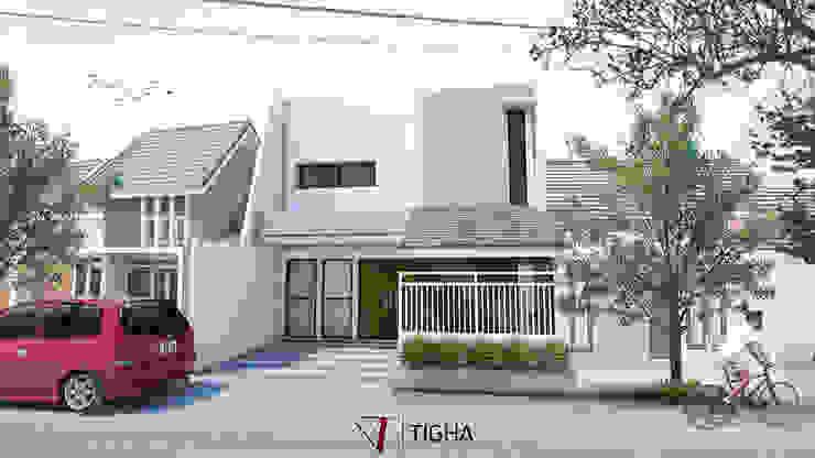 SW House:pedesaan  oleh Tigha Atelier, Rustic
