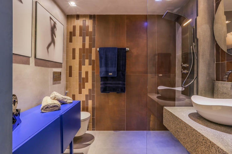 M2T1 Industrial style bathrooms