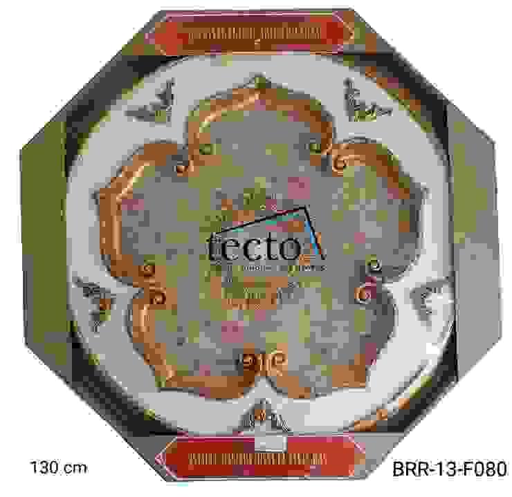 Hiasan Lampu Plafon 130 Cm Lamplate / Dome Plafon Oleh Tecto Plafon Asia