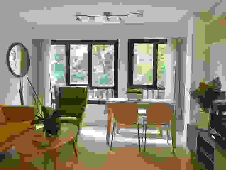 Homestaging de un salón para un piso en alquiler de ND Interiorismo & Decoración Moderno