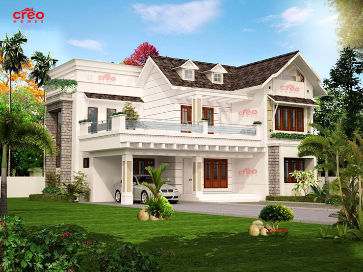 Home Architects in Cochin Asian style houses by Creo Homes Pvt Ltd Asian