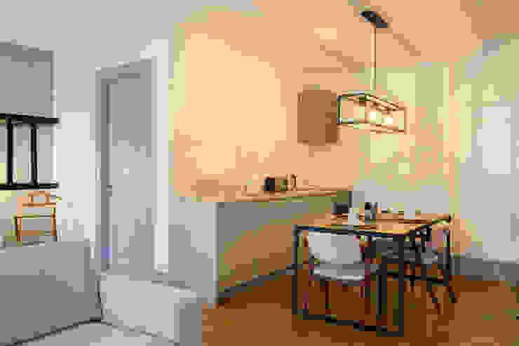 Open Space – Polais, Lisboa por Traço Magenta - Design de Interiores Moderno