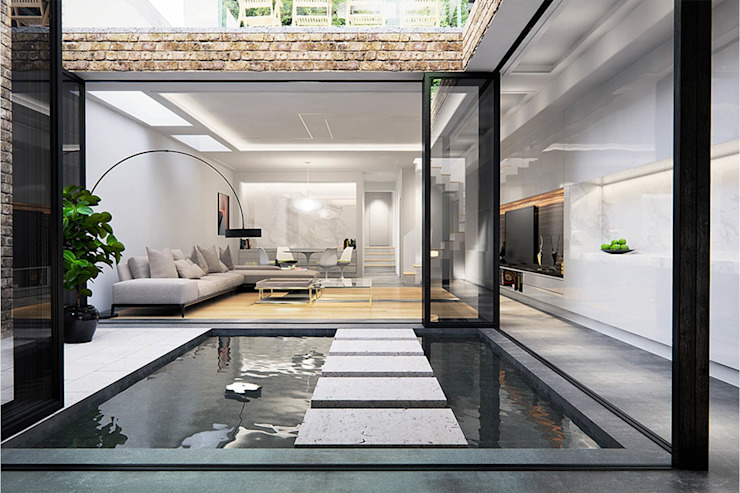 Basement Extension and Refurbishment – Streatham by Armstrong Simmonds Architects Modern
