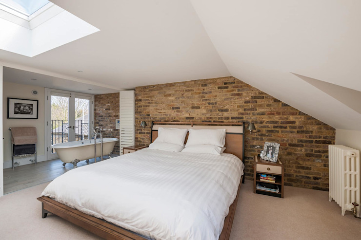 ​Loft Conversion – Clapham by Armstrong Simmonds Architects Modern Concrete