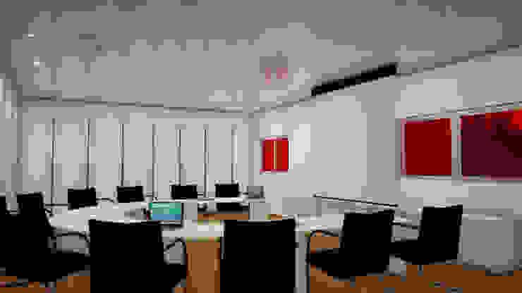 simbiosis ARQUITECTOS Oficinas de estilo moderno