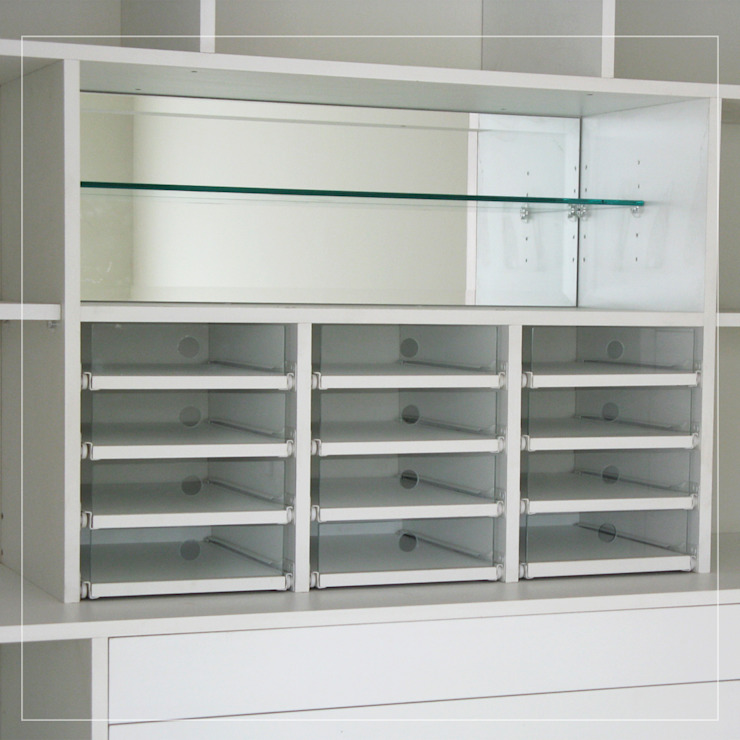 Corporación Siprisma S.A.C Dressing roomWardrobes & drawers White