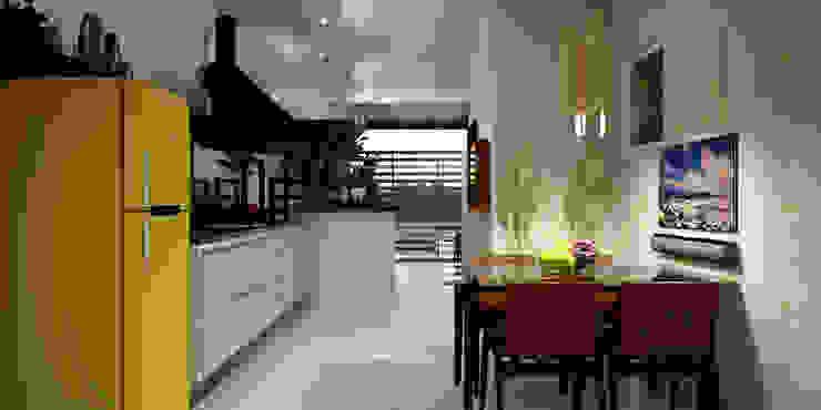 Moderne Esszimmer von SCK Arquitetos Modern