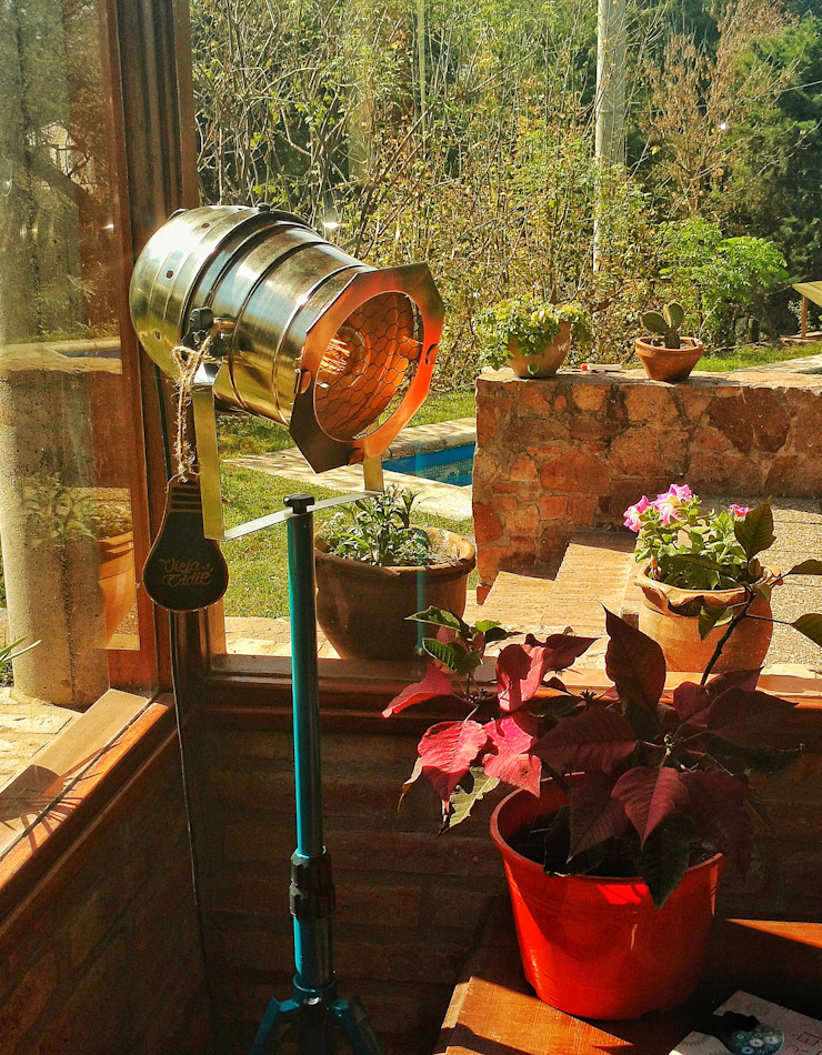 Lamparas Vintage Vieja Eddie Interior landscaping Iron/Steel Multicolored