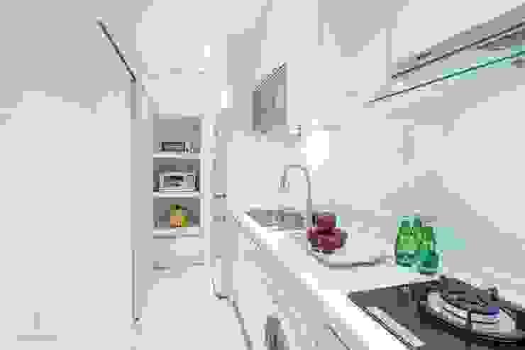 純白簡約 機能小套 沙瑪室內裝修有限公司 小廚房
