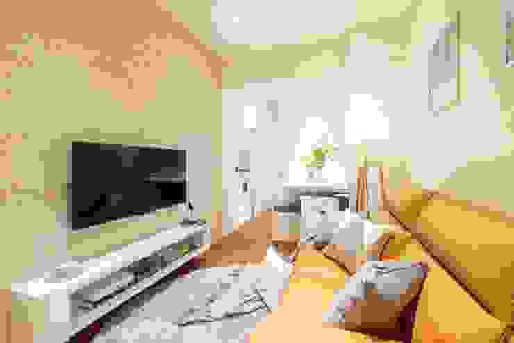 純白簡約 機能小套 沙瑪室內裝修有限公司 客廳