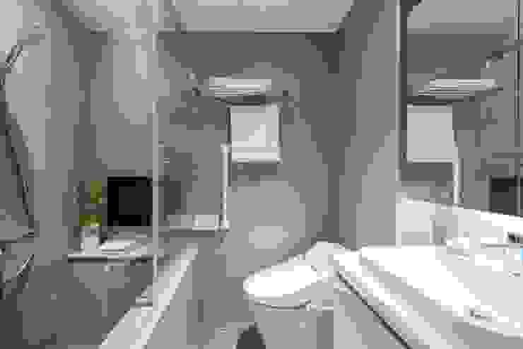 純白簡約 機能小套 沙瑪室內裝修有限公司 浴室