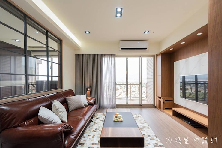 沙瑪室內裝修有限公司 Livings de estilo moderno
