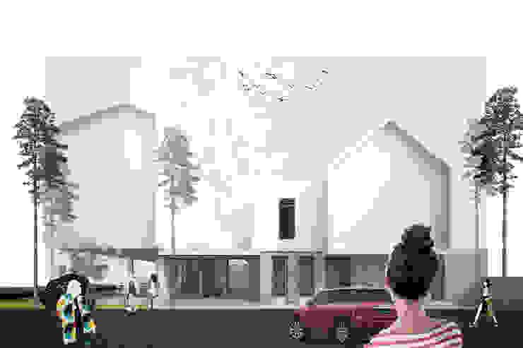 yehos house Rumah Tropis Oleh midun and partners architect Tropis