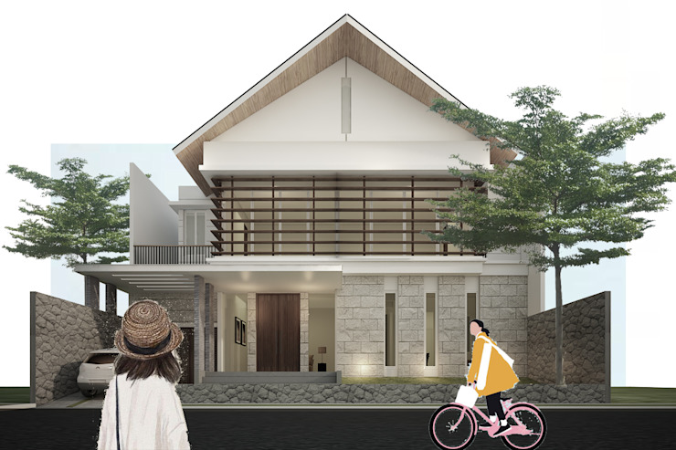bale house Rumah Tropis Oleh midun and partners architect Tropis
