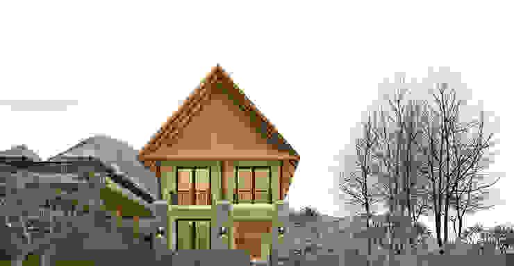trabo villa Rumah Tropis Oleh midun and partners architect Tropis