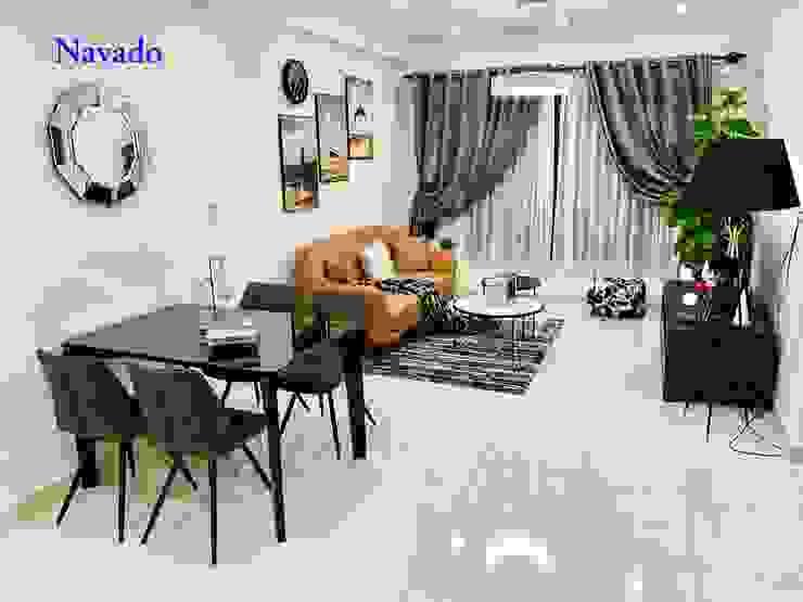 Gương trang trí phòng khách: hiện đại  by Công ty TNHH Navado Việt Nam, Hiện đại