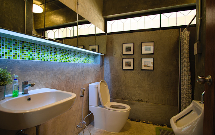 Office WC. Pilaster Studio Design
