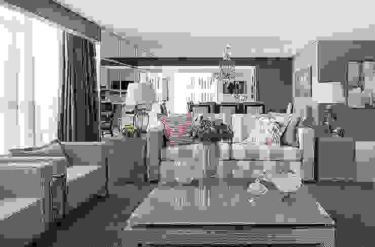 Living: Salas de estar  por Anne Báril Arquitetura,