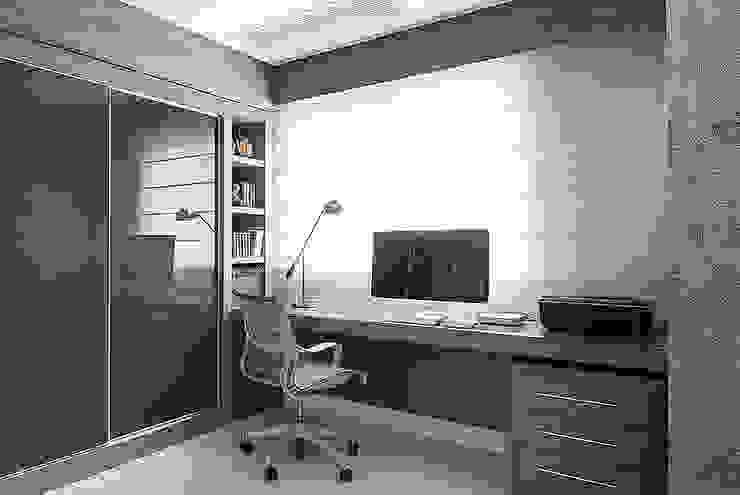 Home Office: Escritórios  por Anne Báril Arquitetura,