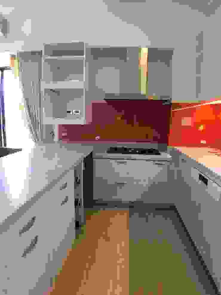 廚房 houseda 系統廚具 玻璃 Orange