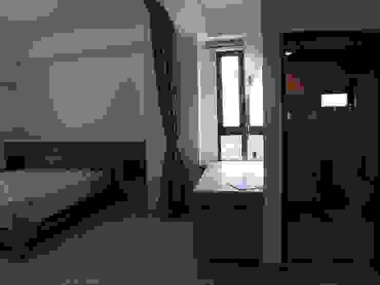 3F臥室-床頭及化妝桌 houseda 浴室 合板 Wood effect
