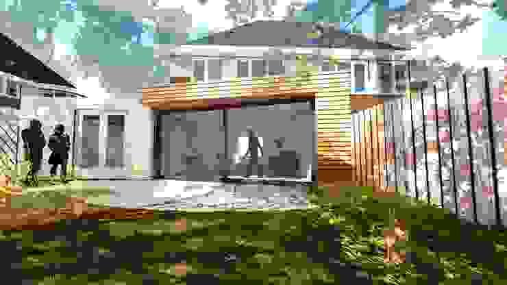 Aanbouw Woning Assen van RABARB Architecten