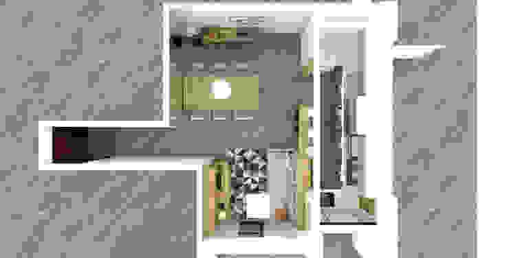 Planta Ilustrativa : Salas de estar  por Studio Elã