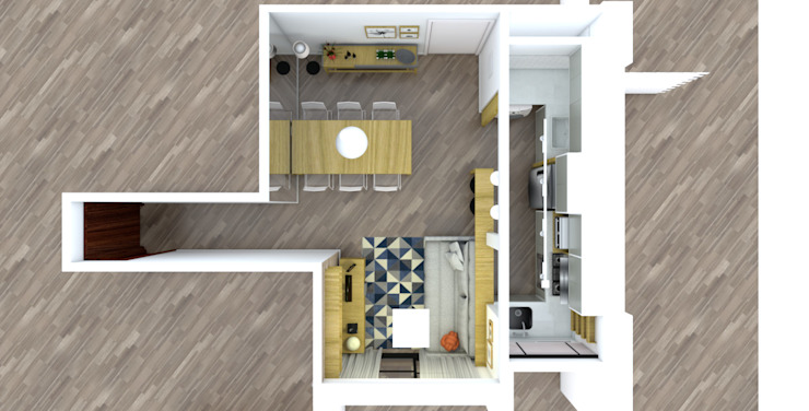 Living room by Studio Elã