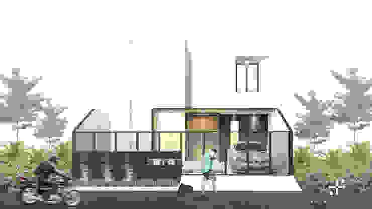 Rumah Mr.A Oleh Poin Plus Studio