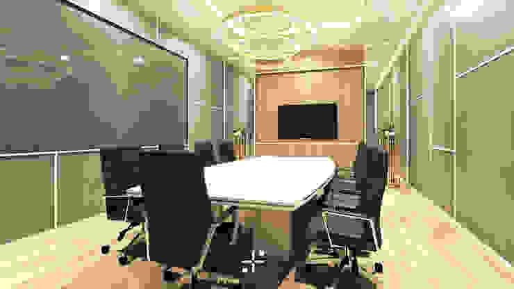 Ruang Meeting IE Office Oleh Poin Plus Studio