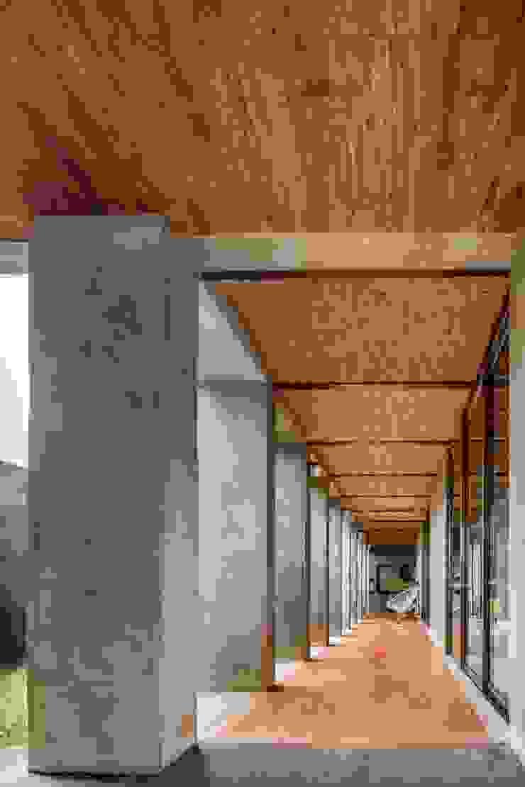 Pasillos, vestíbulos y escaleras de estilo moderno de Apaloosa Estudio de Arquitectura y Diseño Moderno