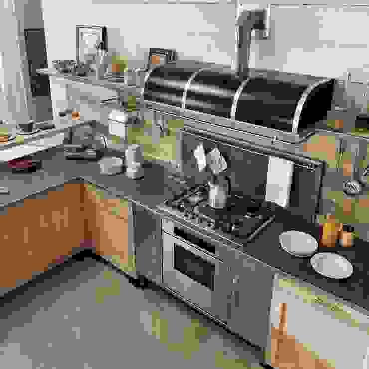 Cocinas Marchi Cucine - Dialma Brown MX Cocinas equipadas Madera maciza Acabado en madera