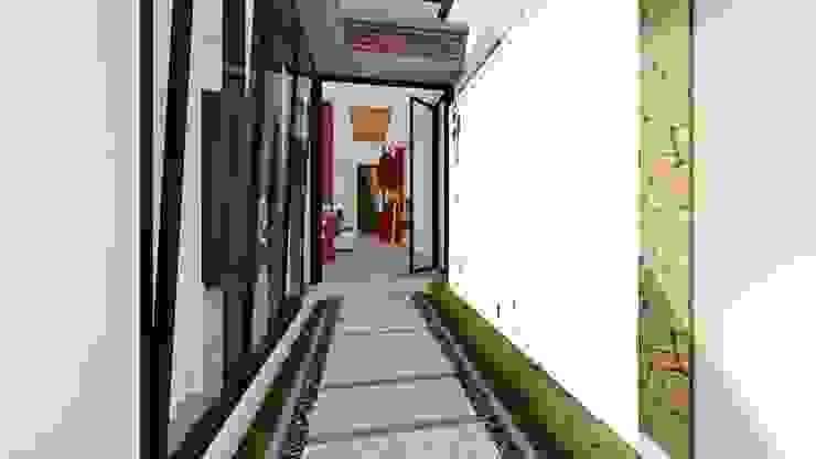 foyer Ruang Komersial Modern Oleh Aper design Modern
