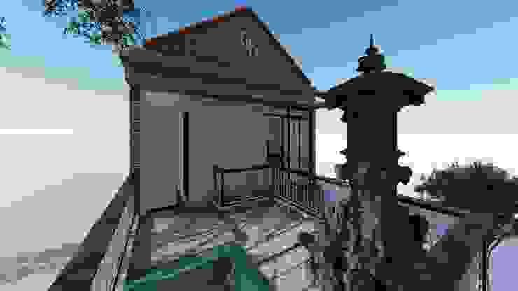 balcony Rumah Sakit Modern Oleh Aper design Modern