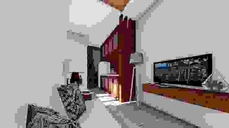living room Ruang Komersial Modern Oleh Aper design Modern
