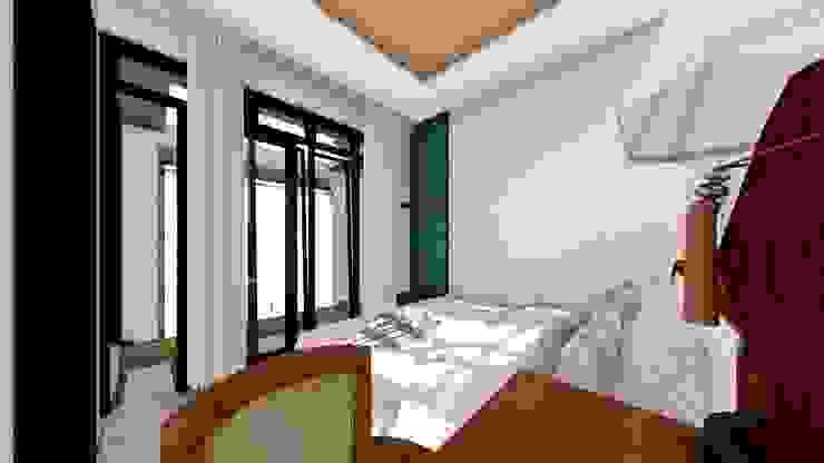 master bed room Ruang Komersial Modern Oleh Aper design Modern