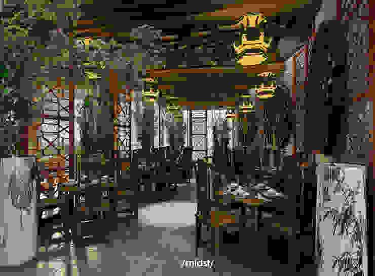 Chinese Restaurant Gastronomi Gaya Asia Oleh M I D S T Interiors Asia
