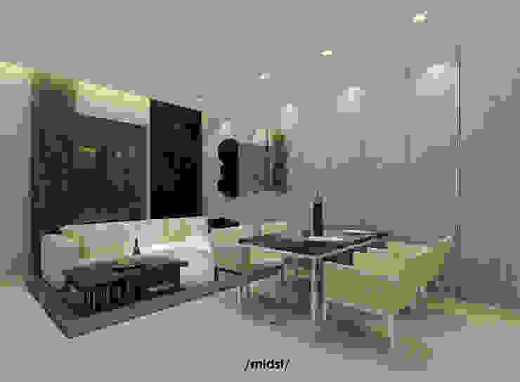 Cebu Residence Ruang Keluarga Modern Oleh M I D S T Interiors Modern