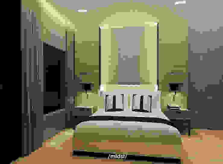 Cebu Residence Kamar Tidur Modern Oleh M I D S T Interiors Modern