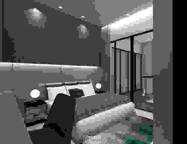 Bedroom Kamar Tidur Modern Oleh M I D S T Interiors Modern