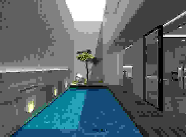 M I D S T Interiors 泳池