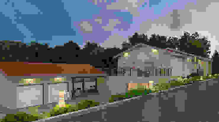 Hillsborough residence, California by S3DA Design Modern Concrete