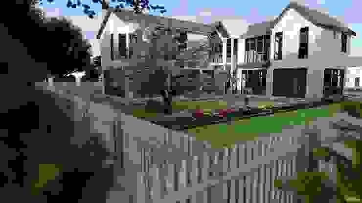 New building design in Beverly Hills, CA by S3DA Design Modern Concrete