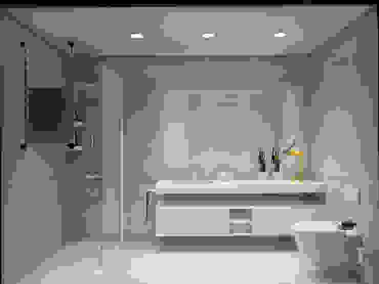 Baños de estilo  por Glim - Design de Interiores