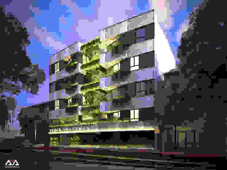 Thiết kế căn hộ cho thuê tại Đà Nẵng bởi AVA Architects Hiện đại